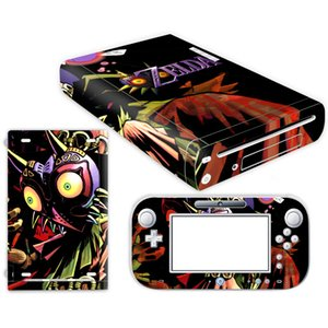 The Legend of Zelda Skin Sticker for Nintendo Wii U Console Cover with Remotes Controller Skins For Nintend wii u sticker