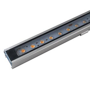 DMX512 Led стены шайба SMD5050 лампы бисера 12W светодиодные прожекторы IP65 Открытый Светодиодные Flood Light DC24V