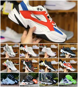 2019 NUEVO Diseñador Air Monarch M2K Tekno Dad Zapatos deportivos de calidad superior para hombre Zapatillas de deporte blancos Zapatillas de deporte casuales Tamaño 36-45