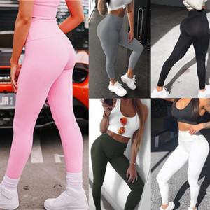 Spor Stretch Spor Pantolon Egzersiz Yüksek Bel Hızlı Kuru Nefes Leggings Koşu Temel Stil Spor Bayan Spor Tozluklar
