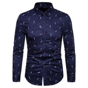 2020 Moda Marka Tasarımcı Erkek Gömlek Erkek Giyim Gömlek Erkek Elbise Gömlek Pamuk 5XL Slim Fit Sokak Giyim Uzun Kollu Yüksek Kalite Casu
