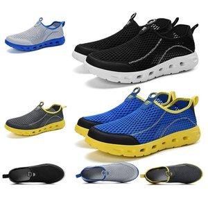 2020 Adatti a donne uomini scivolare su scarpe estive traspirante Trampolieri formatori scarpe di marca scarpe da ginnastica di marca fatta in casa in Cina 39-44 in esecuzione