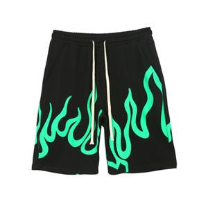 Billie Eilish Concert avec la flamme à proximité Imprimer Short desserrées Hip Hop Casual Hommes Shorts Cinq Minutes Pantalons Mode