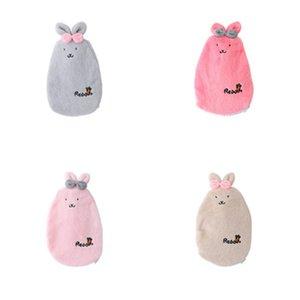 Cute Cartoon Rabbit Hand Warmer Washable Hot Water Bottle Cute Plush Warm Water Bag Water Injection Hand Po Electric