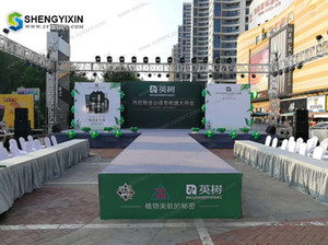 Popular and fashion waterproof Daisy Exhibition Aluminum sound and lighting truss moving head trade show truss stands