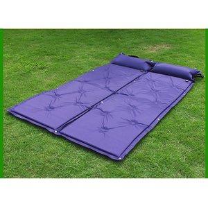 Portable Sleeping Pad Air materasso veloce riempimento Super Light Air Bag materasso gonfiabile con cuscino Escursionismo