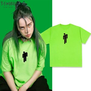 Fashion Billie Eilish Yellow Green Graphic T Shirt Streetwear Women Letter Men Short Sleeve T Shirt Harajuku Gothic Tops Tee