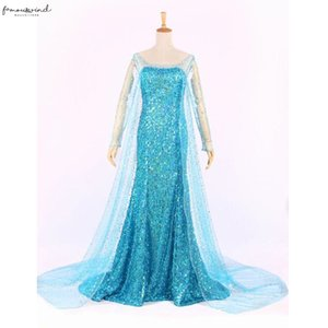 Twill Queen Princess Dress Adult Women Cocktail Party Dress Costume Cosplay Sequin Dresses Gown Vestidos Robe