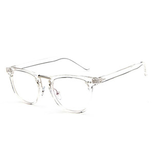 Lusso-Popuar Square Occhiali Telaio Uomini 2018 di Alta Qualità Prescrizione Oculare rivetto Ottico occhiali cornice Retrò Donne Occhiali Eyewear