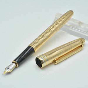 Seri numarası ile iş Hediye Pen Lüks Meisterstucks Metal ve Reçine MB 163 Kalemler Dolma kalem Okulu Büro Kırtasiye Yazma kalemler