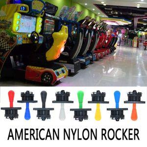 Amerikanische Nylon Rocker Joystick Kunststoff Elliptical Rocker Runde Bottom Micro-Motion-Kampf Arcade Griff Rocker