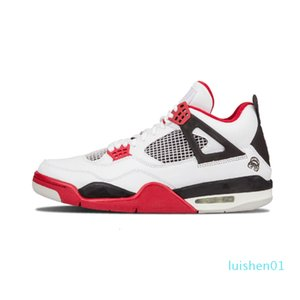 New 4 Basketball Shoes Men 4s Pure Money Royalty Military Blue White Cement Premium Black Bred Fire Red Sports Sneakers 41-47 l01