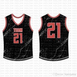 2019 Nueva Jersey personalizado del baloncesto hombre de alta calidad envío libre bordado Logos 100% salea1 superior cosida 67
