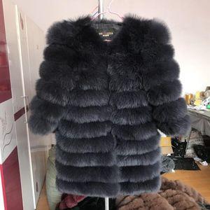2018 Real Fur Coat Women Natural Real Fur Jackets Vest Winter Outerwear Women Clothes
