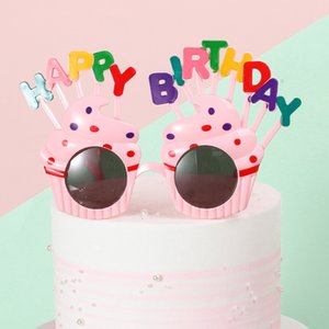 Hot New Fashion Style Funny Happy Birthday Glasses Novelty Party Sunglasses Decoration for Kids Party Favors Gifts