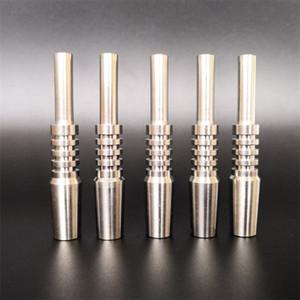 Neue Design-Titan-Nagel-Multi Size Sliver Farbe Titane Tip Nector Sammlerin Rauchzubehör Schnelle Lieferung 13BS E19
