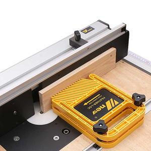 Новая универсальная доска перо Лок установить гравировальный станок Woodworking двухместный Featherboards инструмент Торцовочная калибра слот деревообрабатывающий DIY