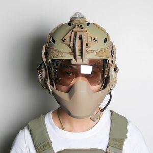 FMA Limpar Batlsking Viper viseira anti nevoeiro Paintball Tático Goggles Para Capacete 3mm de espessura Lentes TB1361