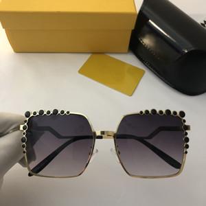 2019 nuevas mujeres de moda clásica gafas de sol polarizadas UV400 gafas de sol cuadradas gafas de alta calidad para mujer gafas de lujo han en caja