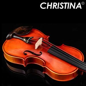 Итальянский christina v05c ручной работы профессиональный деревянный violin4 / 4 luthier stradivarius музыкальные инструменты 4/4 градации скрипка Кристин