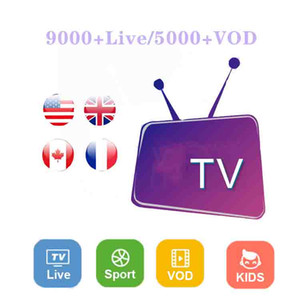Android iOS smart TV Mag box M3U 1 year Global Europe UK USA Canada Netherlands France Arabic Germany Spain