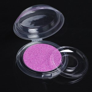 Eyelashes Package Box Transparent Round Eyelash Boxes with Card New Material Cosmetics empty package Makeup Box Tools #396878