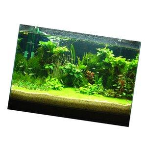 Fish Tank paisaje de accesorios Adhesivo cartel acuario Decoración Pegatina - Plantas