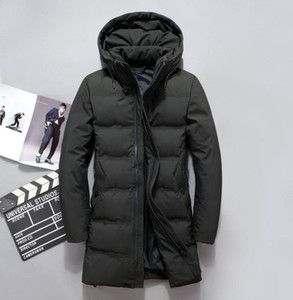 90% white duck down jackets men 2019 Winter long parkas Waterproof windproof hooded coat male High quality thicken coats