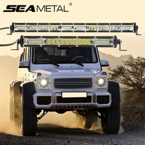SEAMETAL Ultra-Slim Car Light Assembly 78W Combo Beams противотуманные фары для автомобилей 12V 24V Led Work Light Bar for 4X4 Offroad ATV Truck