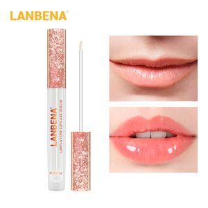 LANBENA Lip Plumper Serum Care Liquid Lipgloss Lip Mask Increase Lip Elasticity Reduce Fine Lines Repairing Moisturizing 12pcs