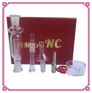 Nectar Collector Kit 10mm tuyaux de 10 mm avec happywater titane verre clou Nectar tube titane clou fumer pipe en verre d'eau en stock