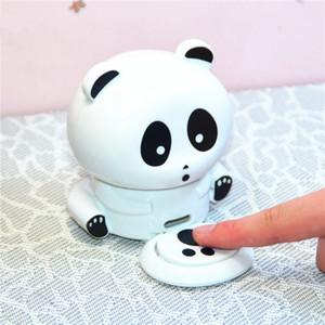 Netter Panda-Maniküre-Nagel-Trockner Polnisch-Gebläse-Trockner Nails Nail Art Trockner Finger Toe Schnell trocknende Trocken Machine Tool RRA2554