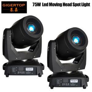 2PCS / LOT 75W LED مشرق جدا نقل رئيس الخفيفة، NEW أسود قذيفة 120W LED نقل رئيس الخفيفة مع شحن مجاني، وأفضل نوعية