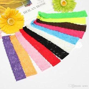 1 10 Pcs Baby Girls Lace Stretch Elastic Handwear Headbands Chiffon Hair Band HQ #T701