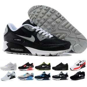 nike air max 90 Hommes Sneakers Chaussures Classic 90 Hommes et femme Chaussures formateur sportif Surface coussin air respirante