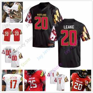Individuelle Maryland-Fußball-Jersey College-Josh Jackson Javon Leake Anthony McFarland Jr. Dontay Demus Jr. Keandre Jones Stefon Diggs