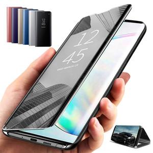 Vaka için OPPO Pro X2 Pro Lite Reno 5Pro 4Pro 3Pro Lüks Temizle Telefon Kılıfı için OPPO F17 bul Akıllı Ayna Deri A52 A72 A92