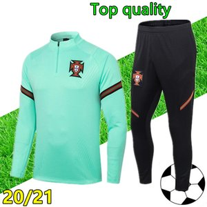 20 21 portogallo Mens della tuta da calcio 2020 2021 Portogallo tuta da jogging di calcio tuta chandal futbol Survêtement piede
