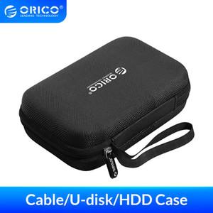 Sacs disque dur cas ORICO cas Power Bag Banque cas pour disque dur 2,5 U-disque Câble USB de stockage externe Portement
