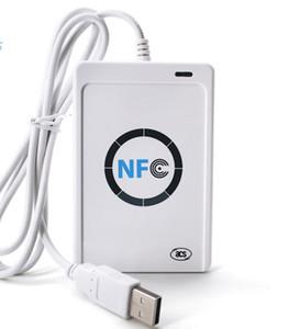ACR122u NFC A9 leitor de NFC escritor USB PC ligado inteligentes sem contato ISO14443A 13,56 leitor de cartão Para todos os 4 tipos de NFC (ISO / IEC18092) Tags