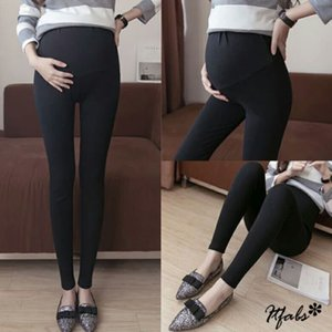 2019 Brand New Pregnancy Warm Legging Tight Thick Cotton Leggings High Waist Pant Elastic Oversized Maternity Legging