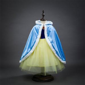 Фабрика Прямой Плащ Принцесса Плащ Девушки Симпатичные Шали Детская Зимняя Одежда Детская Одежда