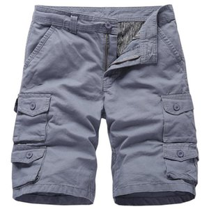 Summer shorts men100% cotton casual men shorts Bermuda masculina Male Baggy Zipper Pants breeches Male Tactica