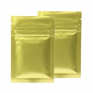 6x9cm 7 Cores Glossy Seal calor da folha de alumínio Mylar Mini Ziplock sacos lisos pequenos zip lock saco para Herb Jewel Packing