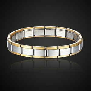 Theresa brand namination jewelry popular style stainless steel bracelet letter and stretch fashion bangle for everybody jewelry
