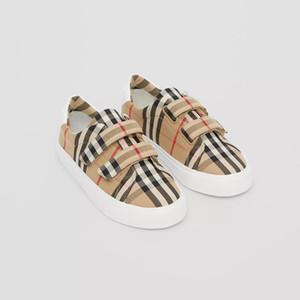 Enfants New Fashion Tide de haute qualité fille décontractée impression Lattice chaussures garçons 030914