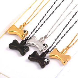 Paw Print Dog Cat Paw Print Cremation Jewelry Ashes Holder Pet Stainless Steel Memorial Urn Necklace For keepsake pendant