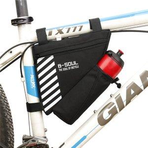 자전거 주머니 사이클링 가방 앞 튜브 프레임 전화 방수 자전거 가방 삼각형 주머니 프레임 홀더 bycicle 액세서리