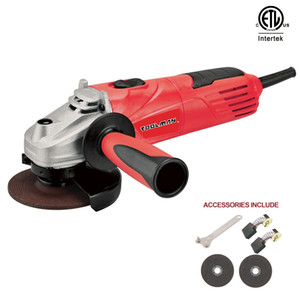 4 1 2 Angle Grinder 11500 RPM 120 V   Cutting wheel sand 60 x 2