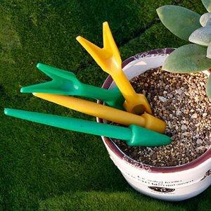 BESTOYARD 2pcs plastica Mini Succulente Trapianto Strumenti Piccolo Pale per il trapianto piantina Attrezzo da giardino